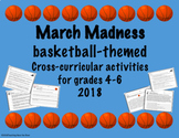 March Madness 2018 Cross-Curricular Activities