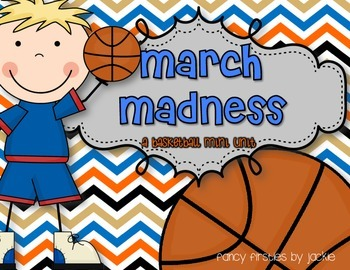 March Madness {A Basketball Mini Unit}