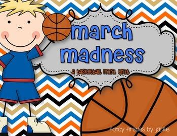 March Madness {A Basketball Mini Unit}