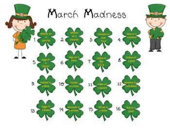 March Madness: A Math Center