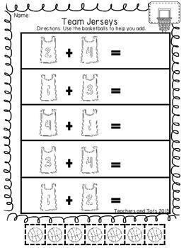 March Math Madness-Addition