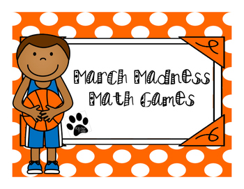 March Madness Addition and Subtraction Bundle