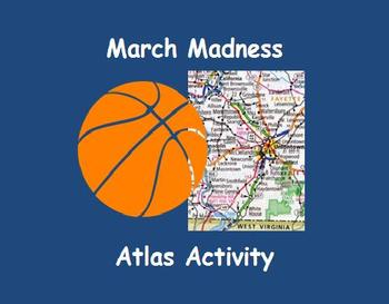March Madness Atlas Activity