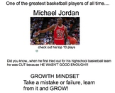 March Madness Basketball and Growth Mindset