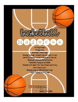 Basketball Poem Worksheets Teaching Resources Tpt