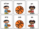 March Madness Basketball First Grade Dolch Sight Words Game