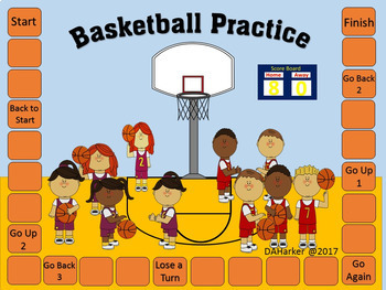March Happiness Basketball Speech Therapy Printable Pack