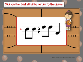 March Madness--Basketball Themed Melodic Reading Game {la}