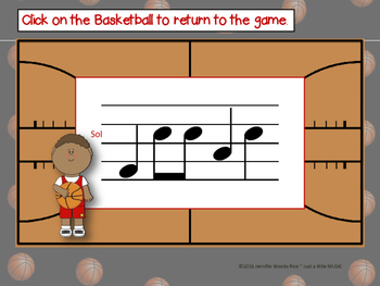 March Madness--Basketball Themed Melodic Reading Game {do}