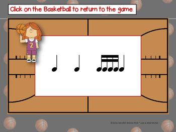 March Madness--Basketball Themed Rhythm Reading Game {tika tika}