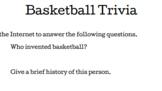 March Madness Basketball Trivia