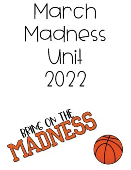 March Madness: Basketball Unit