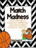 March Fun--Basketball Unit {Reading, Math, Writing, Research/SS}
