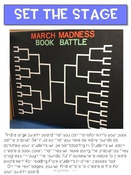 March Madness Book Tryout and Battle