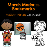 March Madness Bookmarks