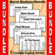 March Madness Bundle of 4 Coordinate Graphing Activities