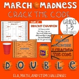 March Madness CRACK THE CODE (Grades 1-5)