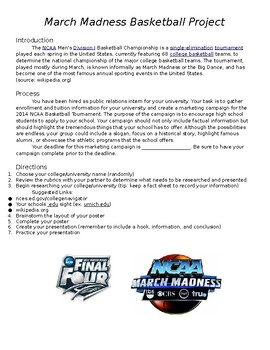 March Madness College Research Project
