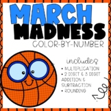 March Madness Color-By-Number