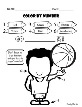 Basketball Season (Craft, Activity and Predictions)