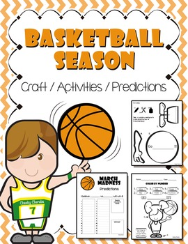 Basketball Season (Craft, Activity and Predictions)