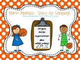 March Madness: Crazy for Language