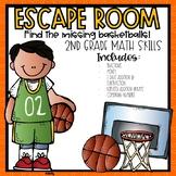 March Madness Escape Room 2nd grade Math Skills