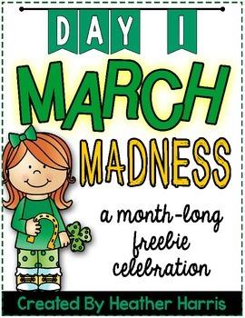 March Madness FREEBIE: Day 1