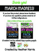 March Madness FREEBIE: Day 4