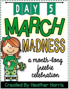 March Madness FREEBIE: Day 5
