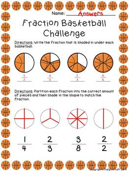 Fraction Basketball Challenge