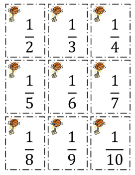 March Madness Fraction Game