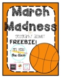 March Madness Geography Activity