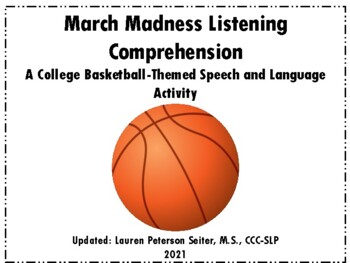 March Madness Listening Comprehension