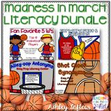 Madness in March Basketball Literacy Bundle