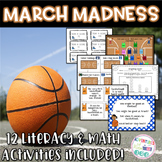 March Madness (Basketball) Literacy and Math Unit/Centers