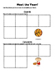 March Madness Decimals/Fractions Matching Game and Activity
