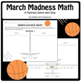 March Madness Math: A Basketball-Themed Partner Game #christmasinjuly