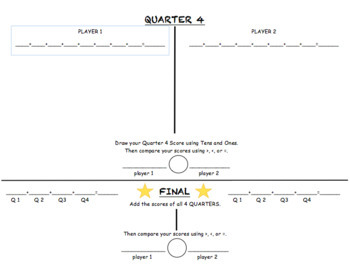 March Madness Math: A Basketball-Themed Partner Game