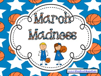 March Madness - Math Activities