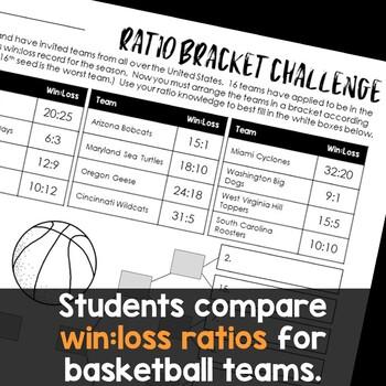 Bracket Challenge, Ratios