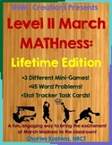 March MATHness-Level II-Lifetime Edition: March Madness Engaging Math Skills