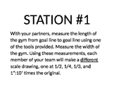 March Madness Math Gym Activity