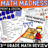 Back to School Math Review Packet | Rising 4th Grade