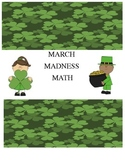 March Madness Math Packet--St. Patrick's Day