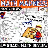 Back to School Math Review Packet | Rising 5th Grade