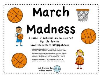 March Madness: Math, Reading and Basketball FUN!
