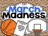 March Madness Math and Literacy Activities
