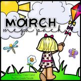 March Madness Mega Pack {Seasonal Math & Literacy Activities}