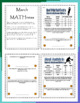 Mini March MATHness-Level II: March Madness Math Games & Activities